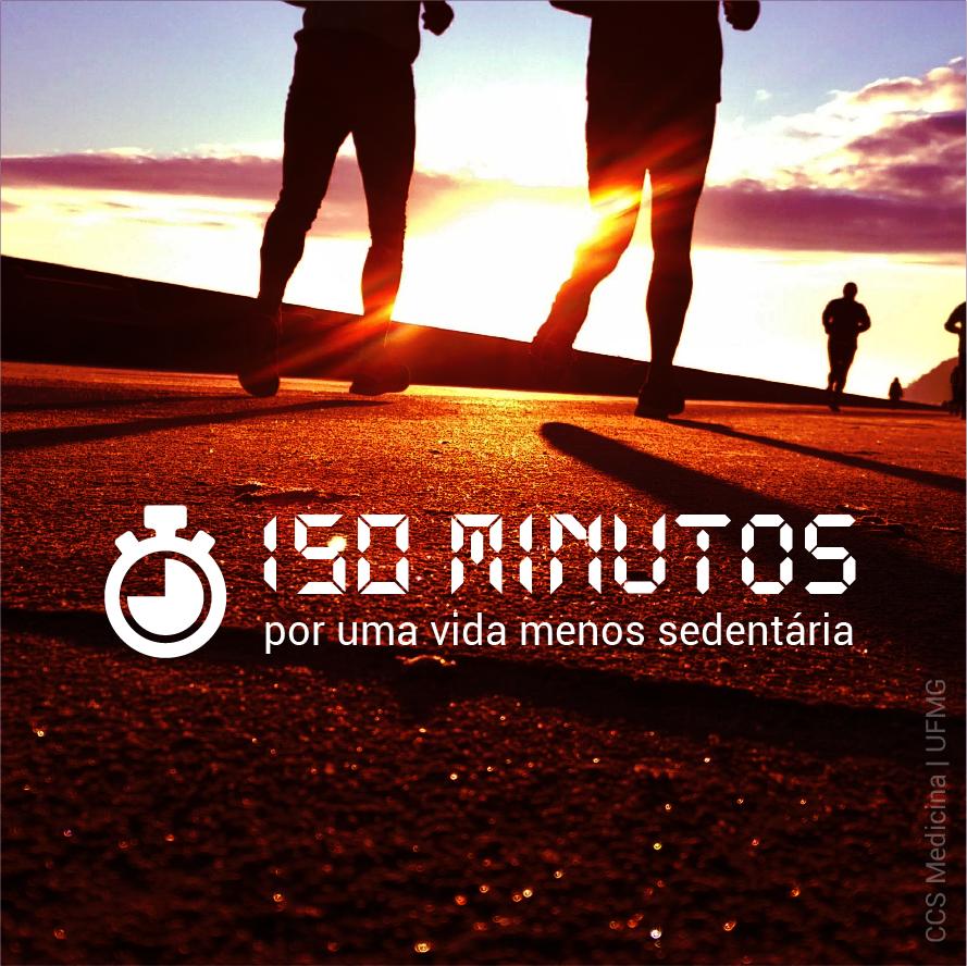 150 minutos – por uma vida menos sedentária