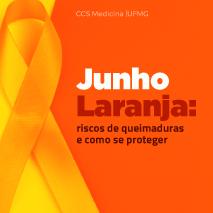 Junho laranja: riscos de queimaduras e como se proteger