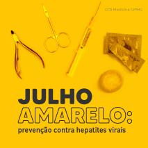 Julho amarelo: prevenção contra hepatites virais